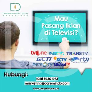 Pasang Iklan di TV