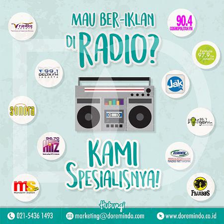 Pasang Iklan di Radio