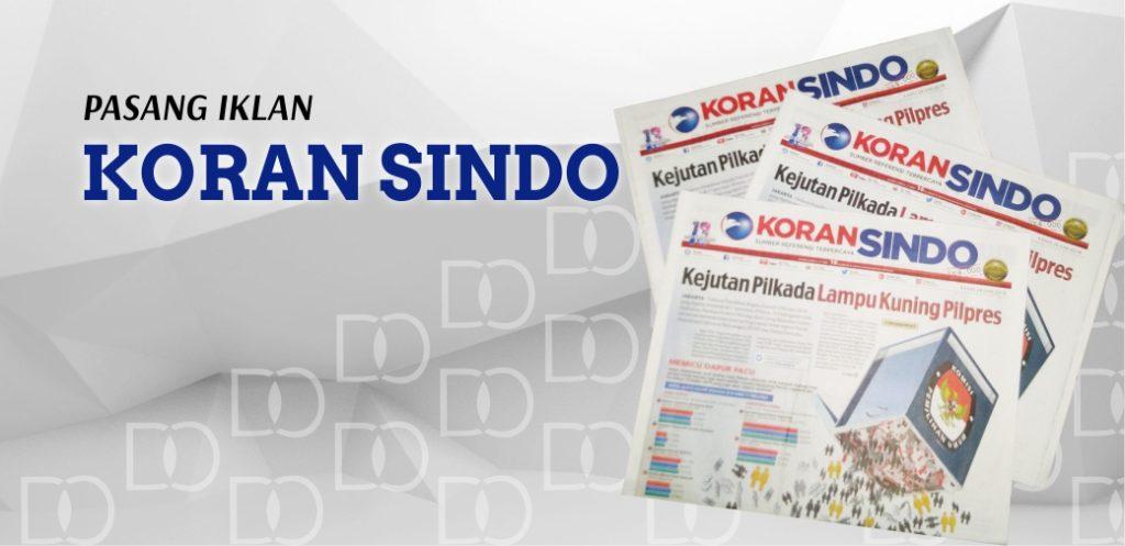 Iklan di Koran Sindo