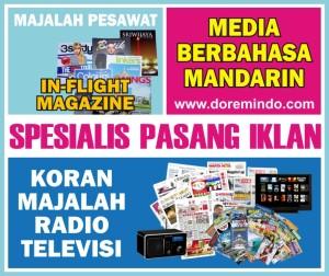 Pasang Iklan Koran Majalah Radio Televisi