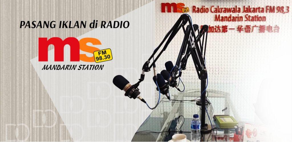 Pasang Iklan di Radio Cakrawala