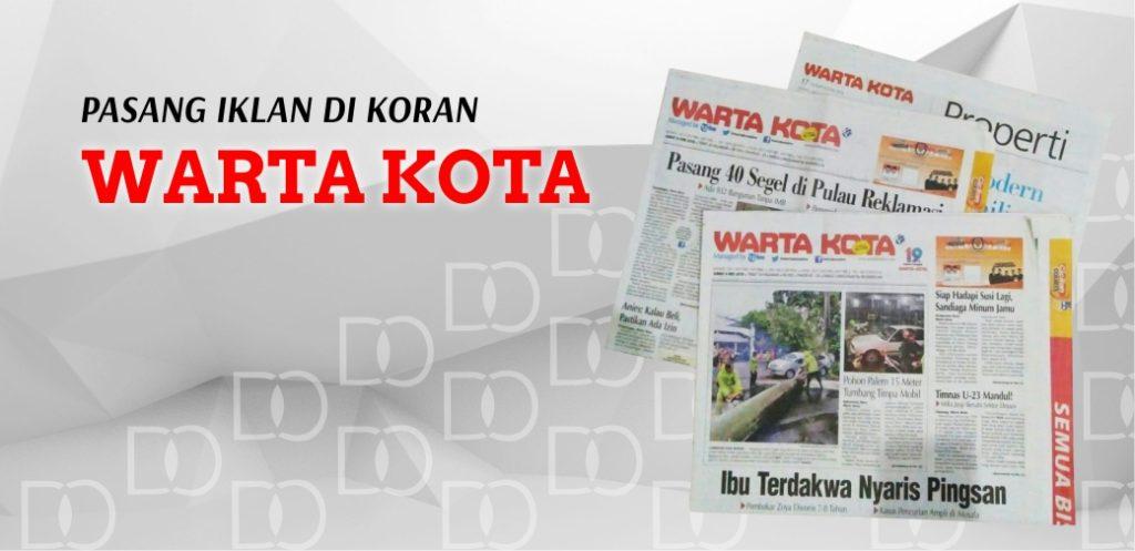 Pasang Iklan Koran Wartakota