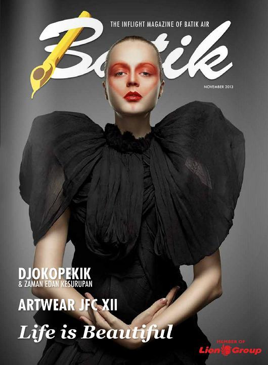Majalah Batik Air (cover edisi Nop 2013)