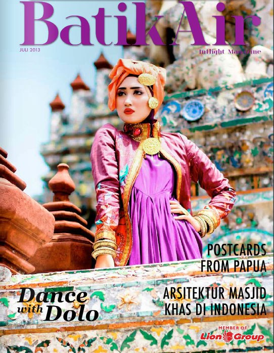 Cover Inflight Magazine Batik Air (Juli 2013)