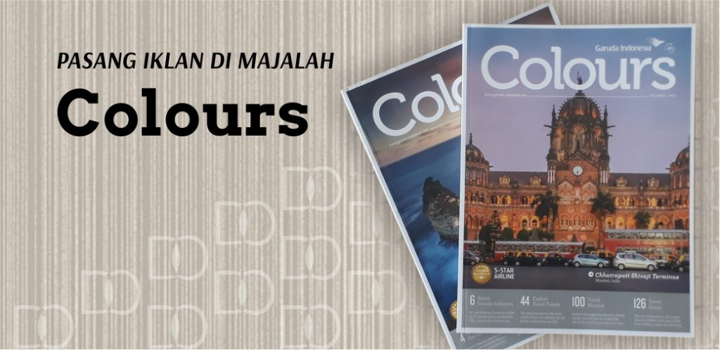 Majalah Pesawat COLOURS Garuda