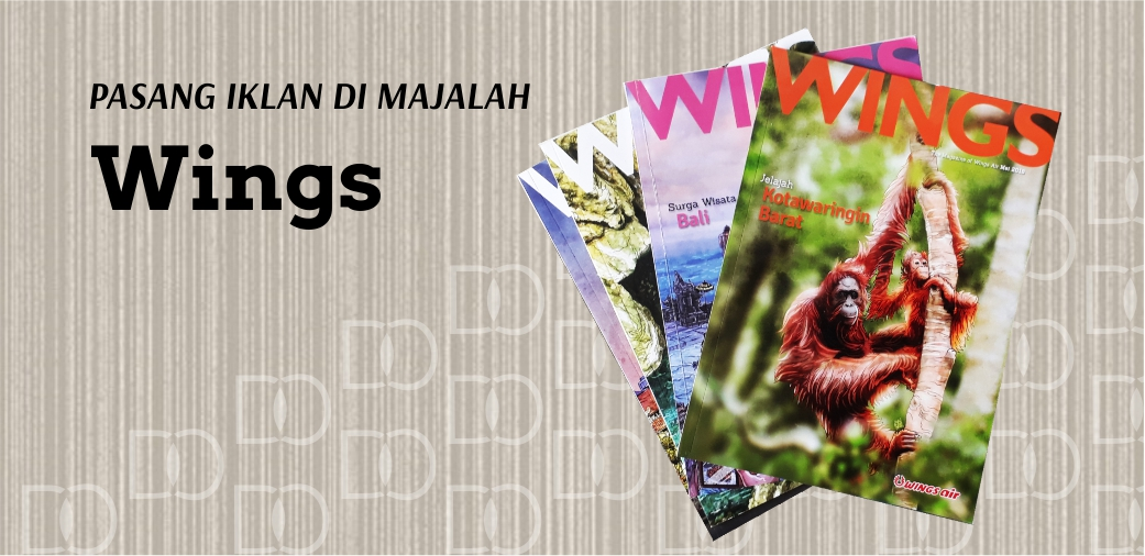 Pasang Iklan Majalah Wings Air