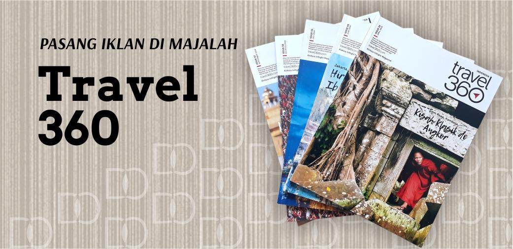 Majalah Pesawat Travel3Sixty