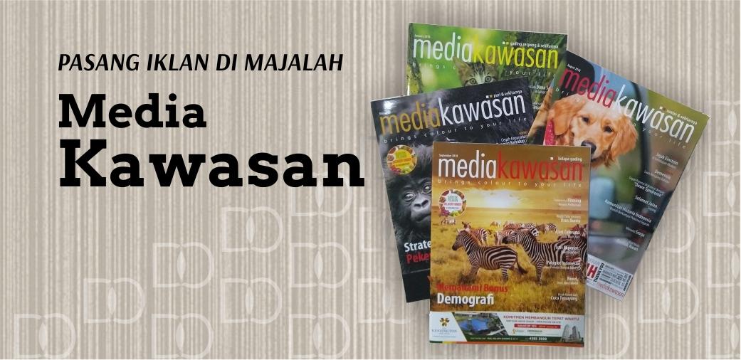Pasang Iklan Majalah Media Kawasan