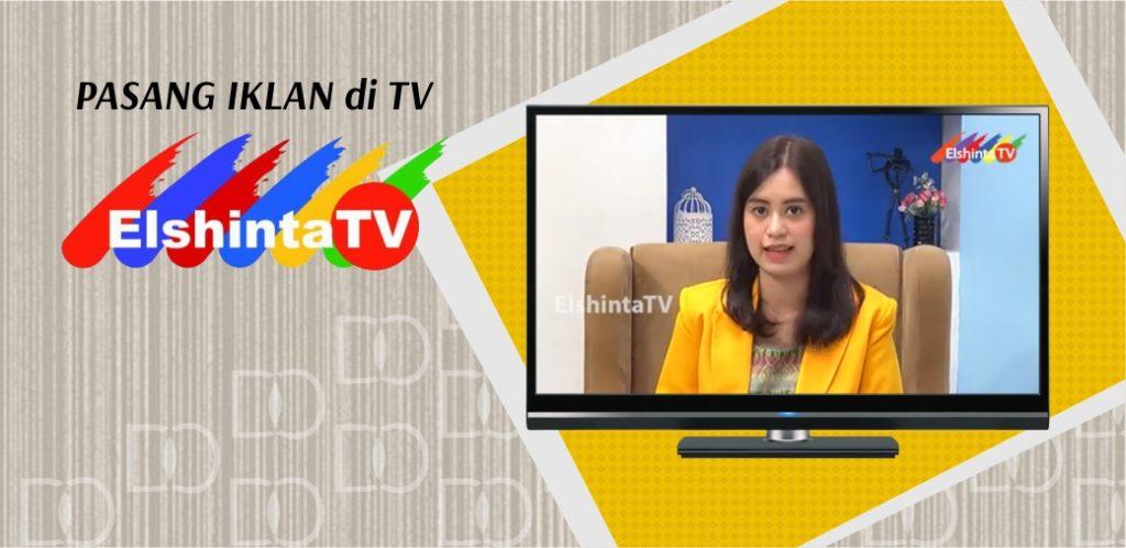 Pasang Iklan di Elshinta Tv
