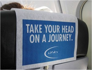Citilink Advertising - Cover Seat Branding