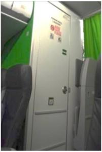 Restroom Door - Pesawat Citilink