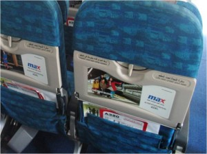 Advertising Citilink - Tray Table