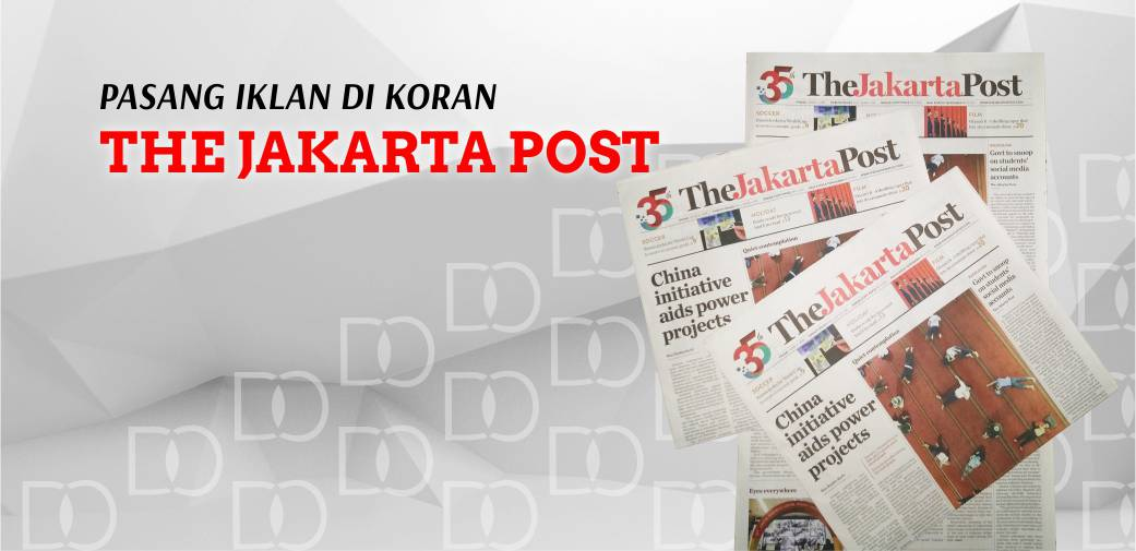 Pasang Iklan Koran Jakarta Post