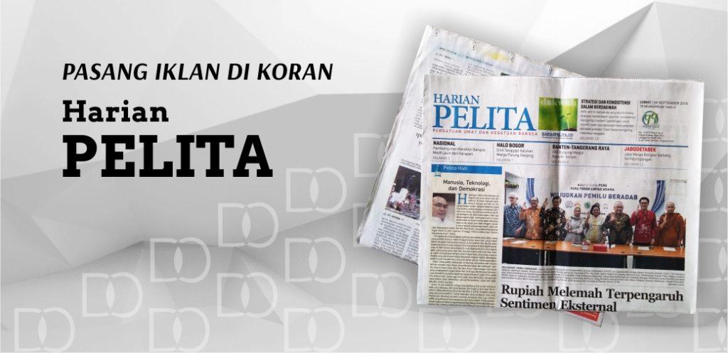 Pasang Iklan di Koran Pelita