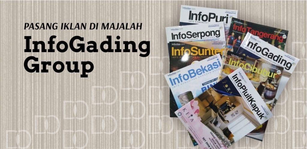 Pasang Iklan Majalah Info Gading Group