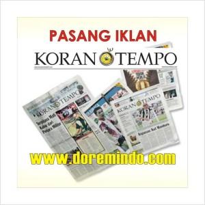 Iklan Koran Tempo