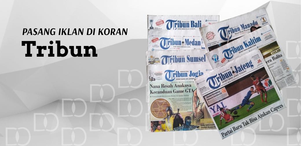 Pasang Iklan Koran Tribun
