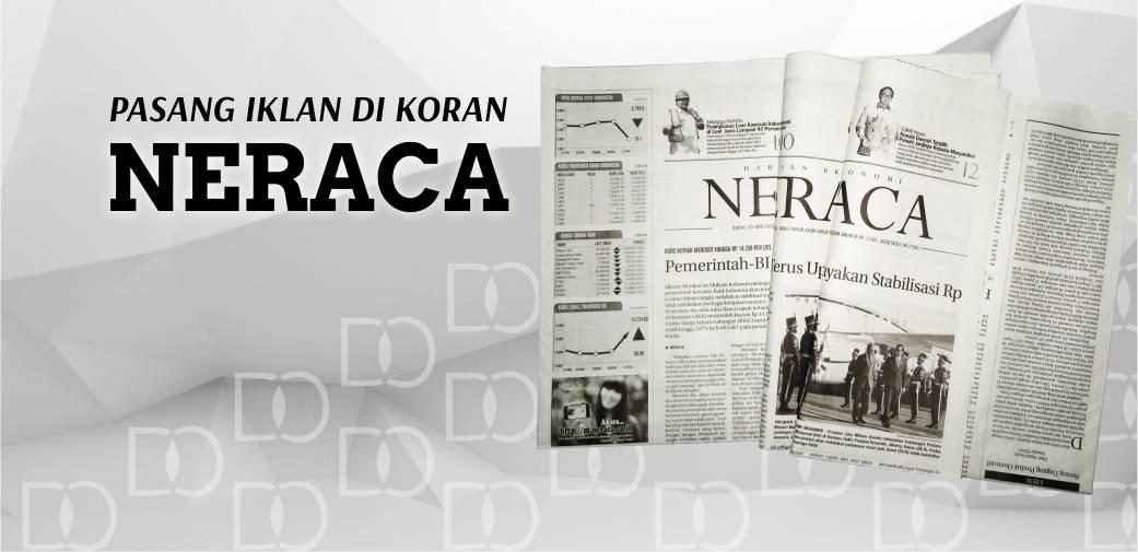 Pasang Iklan Koran Neraca
