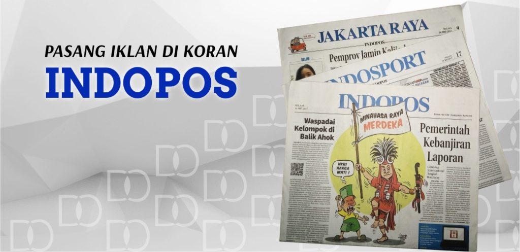 Pasang Iklan Koran Indopos